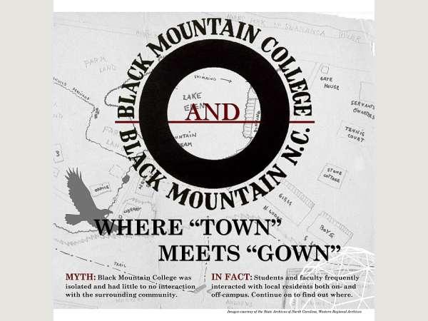 Black Mountain College and Black Mountain, NC: Where \
