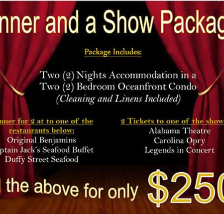 Packages: Dinner, Show, & An Oceanfront Suite