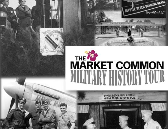 The Market Common Military History Trolley Tour & Catered Reception