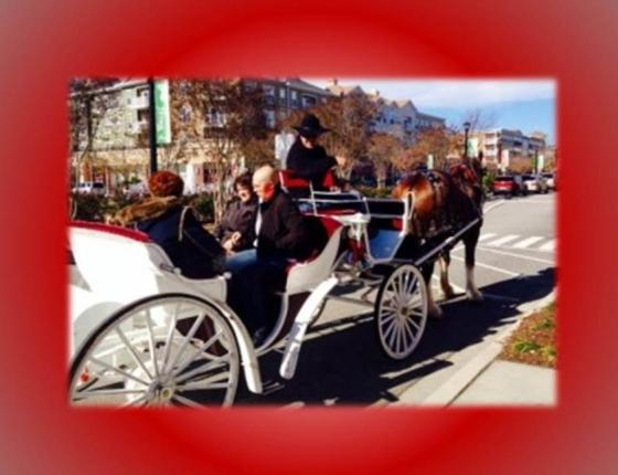 Complimentary Valentine's Day Carriage Rides at The Market Common