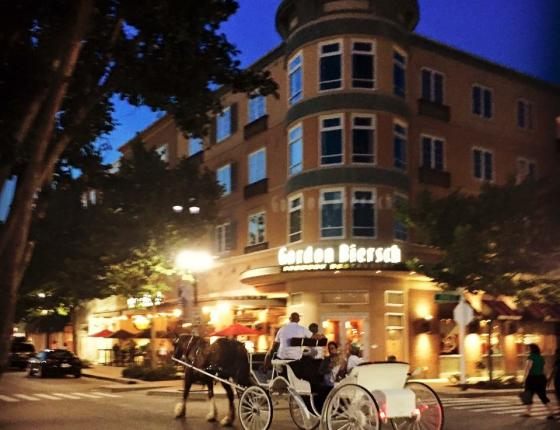 Complimentary Holiday Carriage Rides at The Market Common