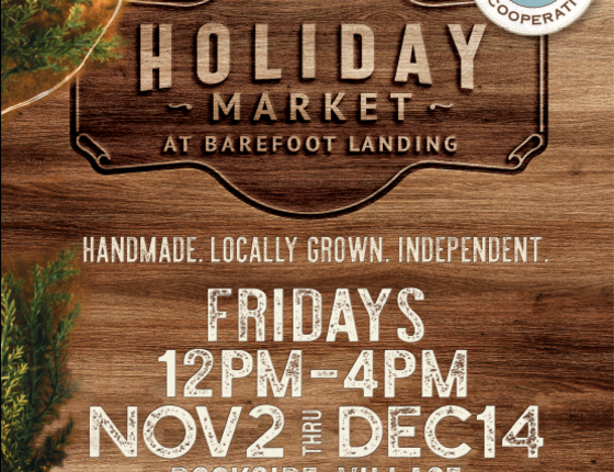 Holiday Market at Barefoot Landing