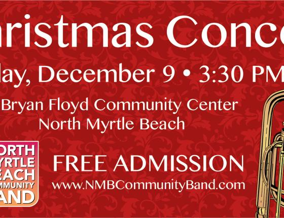 North Myrtle Beach Community Band Christmas Concert