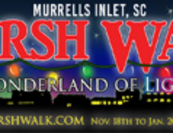 MarshWalk Wonderland of Lights