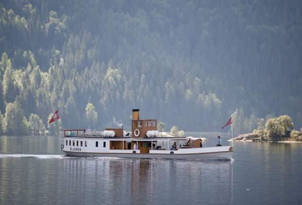 Dampfschiff Bjoren