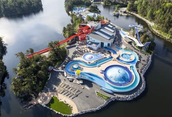 Badelandet Aqua Park In Dyreparken Kristiansand