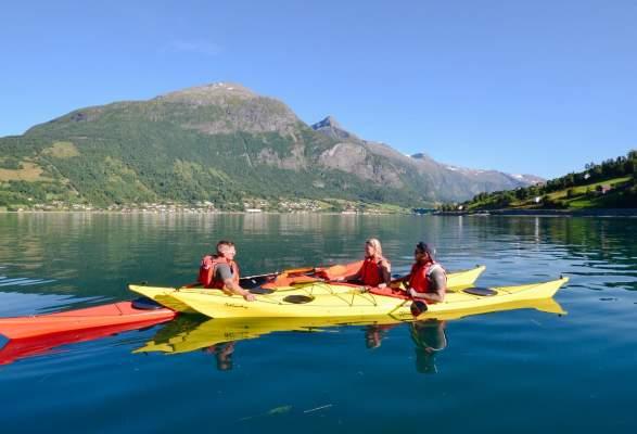 Kayaking in Nordfjord | Briksdal Adventure