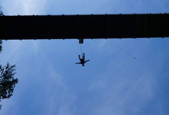 Bungee Jump Trolljuv Bridge