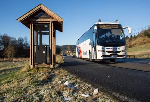 Bussrute Bergen Stavanger