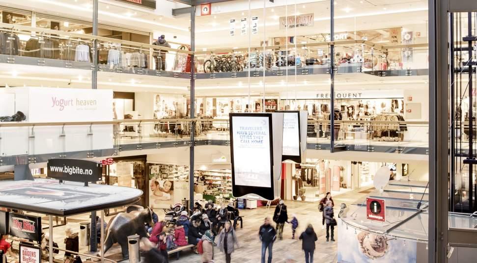 2b94bec81 Trondheim Torg Shopping Centre