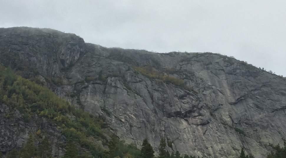 Klettersteig Karte : Klettersteig løefjell