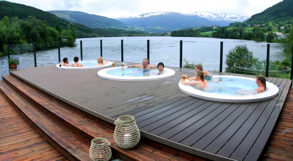 Image result for outdoor jacuzzi