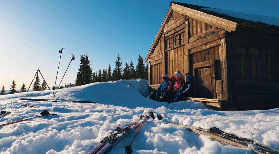 birkebeinerløypa kart Birkebeinerløypa (Sjusjøen Lillehammer) 15 km
