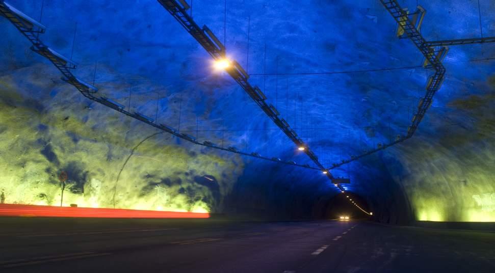 Lærdalstunnelen Der Längste Tunnel Der Welt