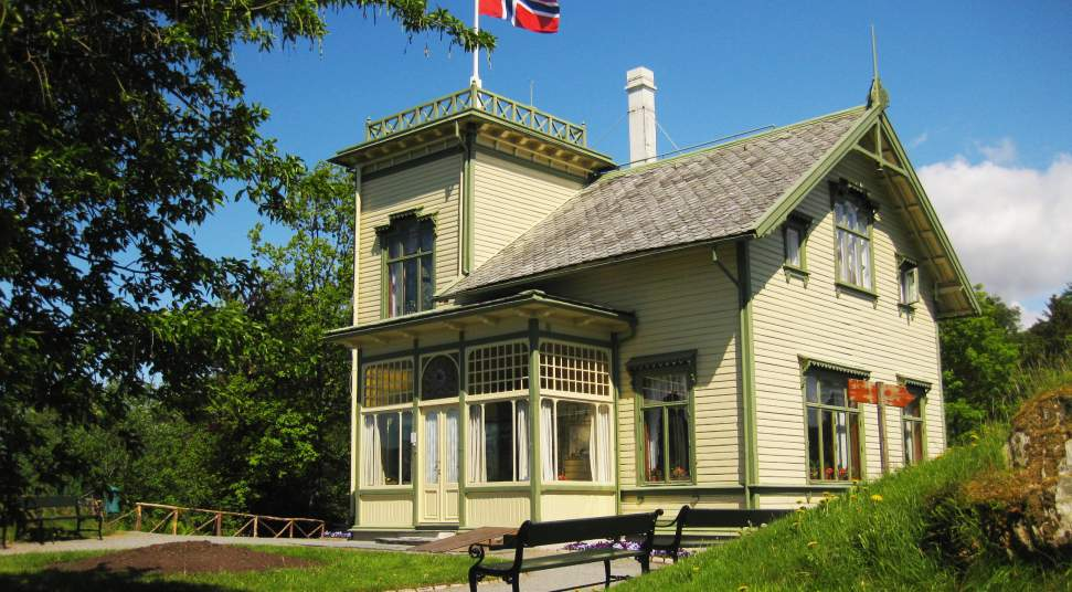 ترولدهاگن خانه آهنگ ساز معروف ادوارد گرگ در نروژ