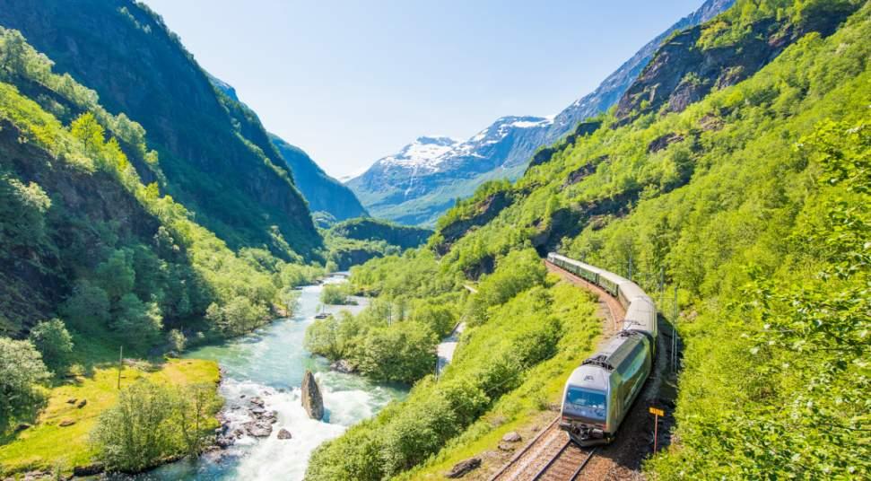 Image result for The Flåm Railway