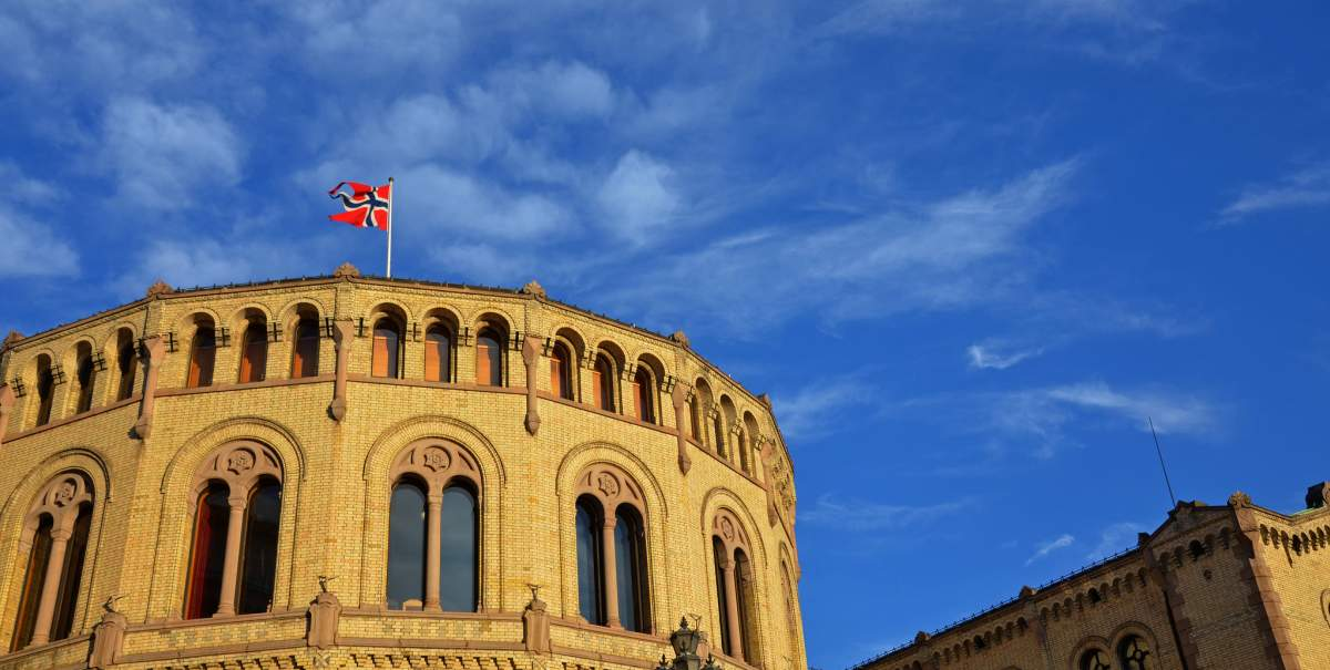 Norveç Parlamentosu  Stortinget, Dök Mimarlık