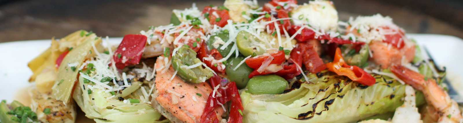 Warm Seafood Salad by Celeste Stubner