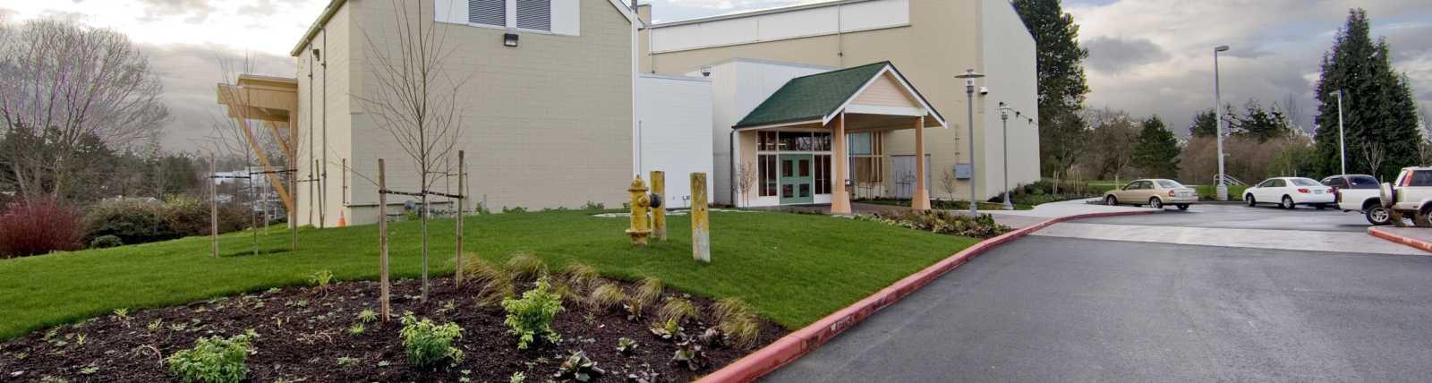 SeaTac Community Center - Exterior
