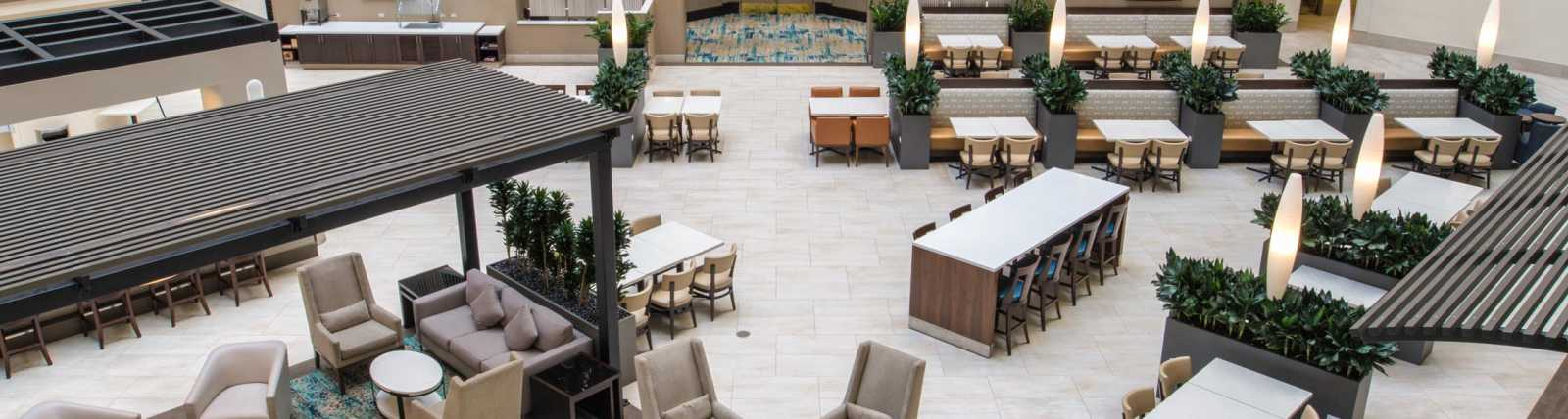 Newly renovated Atrium