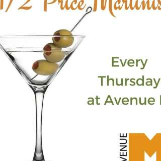 Half Price Martini Night!