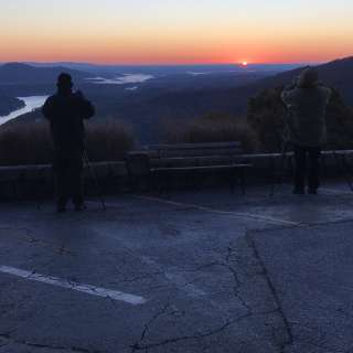 Park in the Dark for the Friends of Chimney Rock State Park