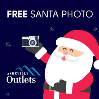 FREE Santa Photos at Asheville Outlets
