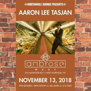 Worthwhile Sounds Presents: Aaron Lee Tasjan w/ Brandy Zdan