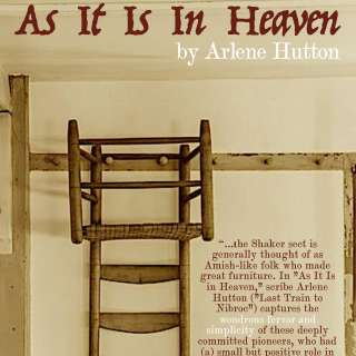 Front Porch Theatre at the Black Mountain Center for the Arts presents AS IT IS IN HEAVEN by Arlene Hutton