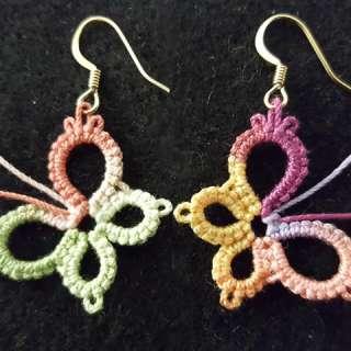 Art & Craft Workshop: Tatted Butterfly Earrings
