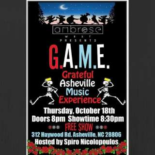 GAME - Grateful Asheville Music Experience at Ambrose West