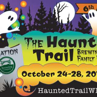 The Haunted Trail At Pisgah Brewery