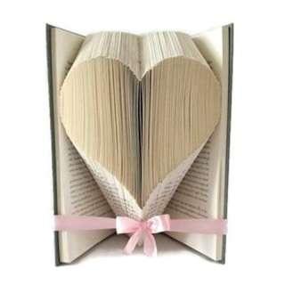 Arts & Crafts Workshop: Folded Book Art: Heart