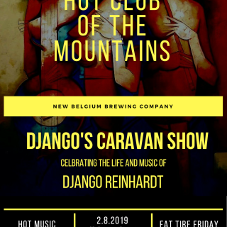 Hot Club of the Mountains | Django's Caravan Show celebrating the life and music of Django Reinhardt