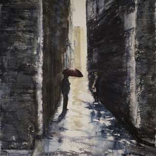 Don't Be Afraid of the Dark- Watercolor with Nadine Charlsen