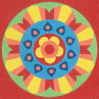 Crafty Historian: Mandala Sand Art