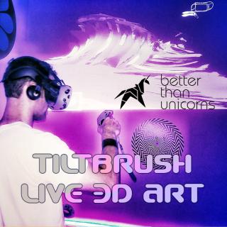 Tiltbrush Live 3D Art