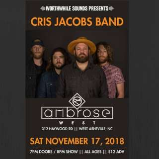 Worthwhile Sounds Presents: Cris Jacobs Band