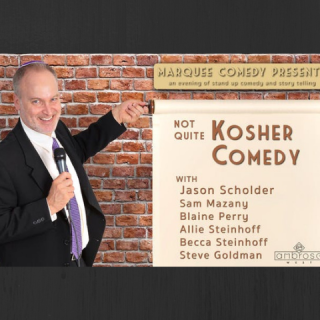 Not Quite Kosher Comedy Night at Ambrose West