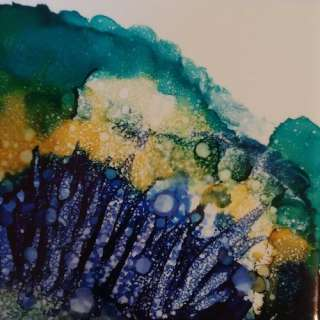 Glowing Colors with Alcohol Ink with Lorelle Bacon