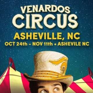 The Venardos Circus is coming to Asheville
