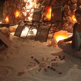 Reiki Sound Healing inside the Salt Cave