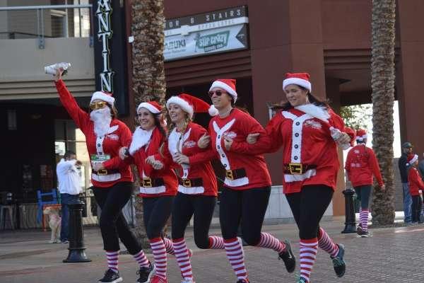 Santa Hustle Galveston 5k & Half Marathon