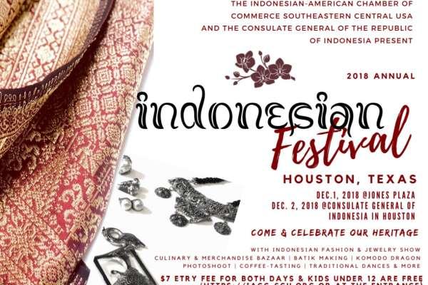 The 2018 Annual Indonesian Festival Houston