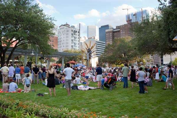 Free events at Market Square Park