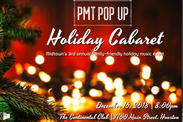 PMT Pop Up: Holiday Cabaret