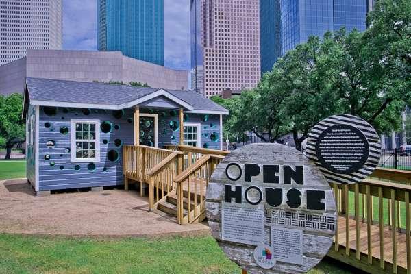Open House en Sam Houston Park