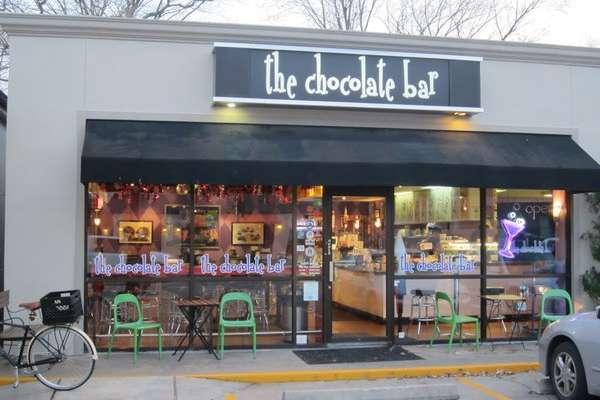 The Chocolate Bar Montrose Restaurants In Houston Tx 77098