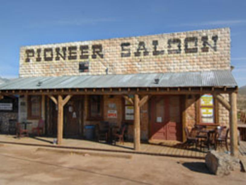 Pioneer Saloon at Goodsprings
