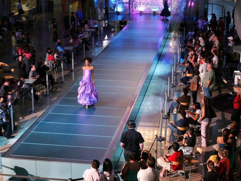 Live Runway Shows at Fashion Show Mall